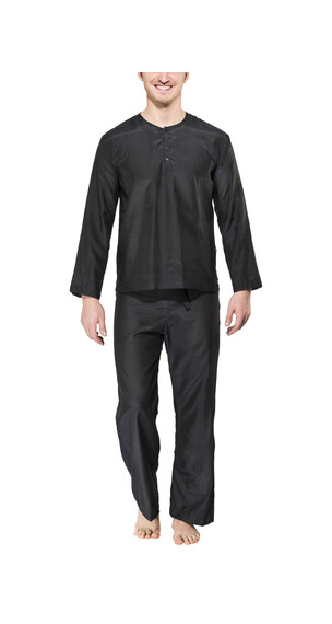 Traveler's Tree Travel Pyjama - Ropa de dormir - Men negro